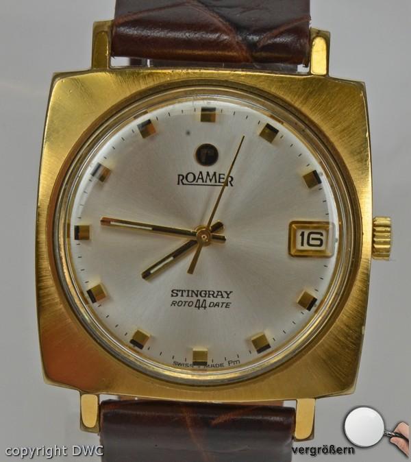 Hau-Sammler-Uhr-Roamer-Herren-Uhr-Uhren-Automatik-Stahl-Markenuhr-Luxusuhr-Watch