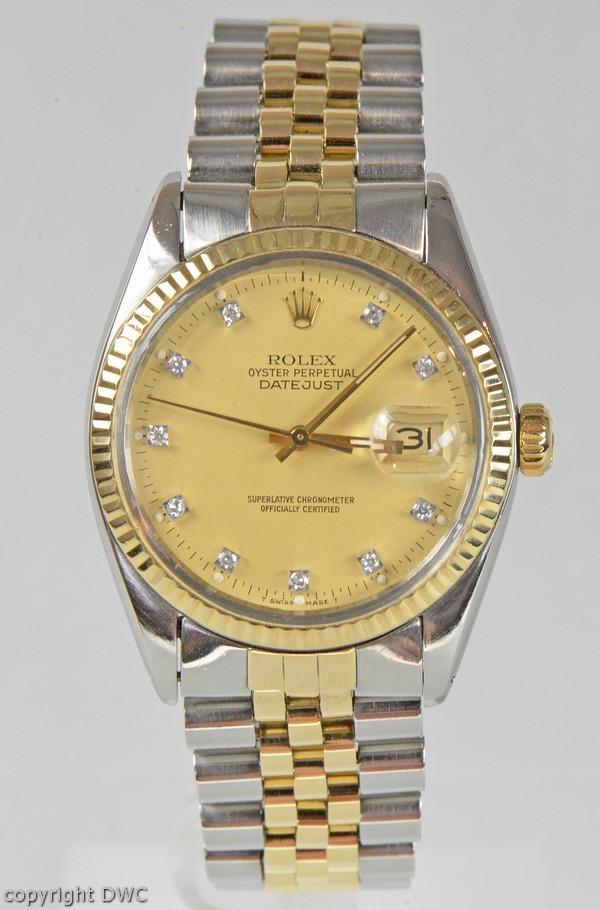 Armbanduhr rolex gold  Armbanduhr Herren Rolex Datejust Stahl Gold Automatik Uhren Uhr ...