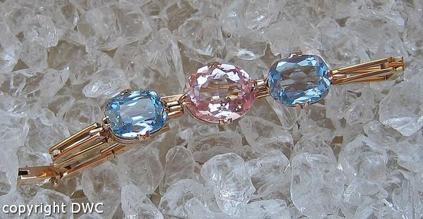 Uhren & Schmuck Rosenquarzarmband Armband Mit Rosenquarz Spinell Aus 585er Gold Bracelet Damen .